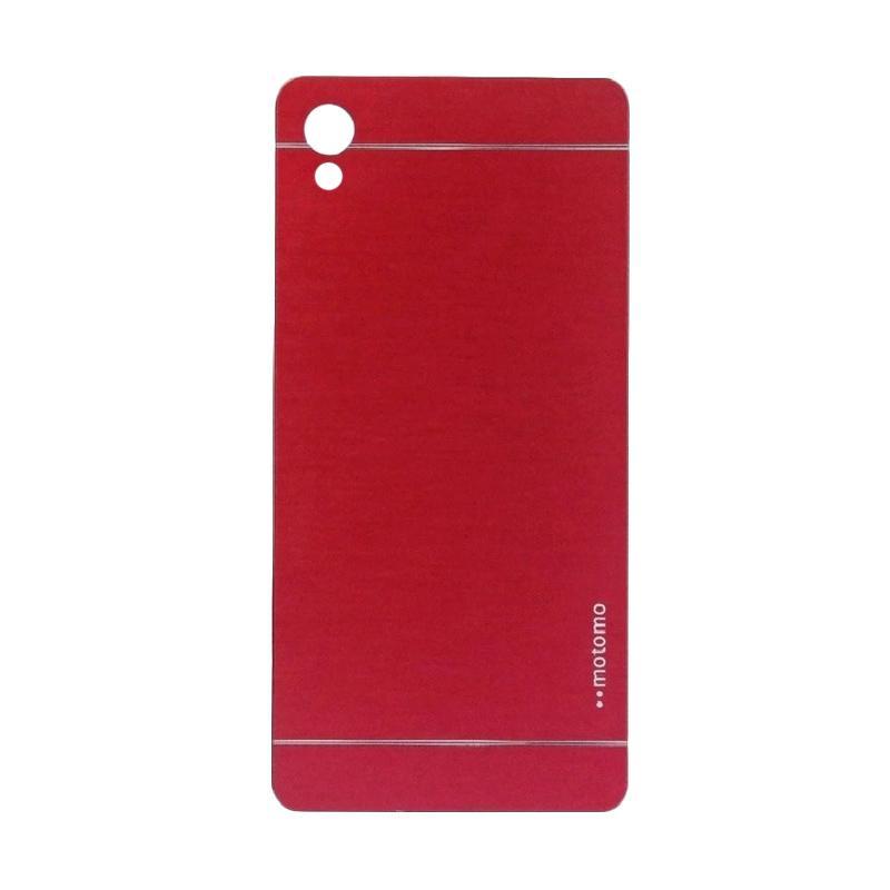 Motomo Metal Hardcase Backcase Casing for Sony Xperia Z5 Plus or Z5 Premium - Red