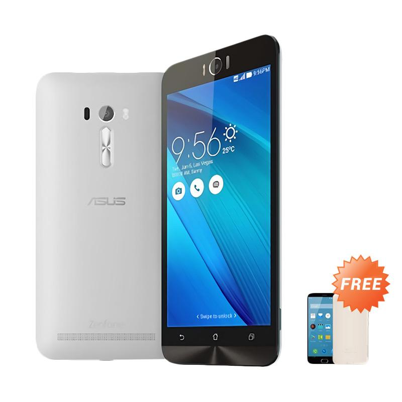 Ultrathin Aircase Casing for Zenfone Laser 5.5 Inch - Clear [Best Seller] + Free Ultra thin