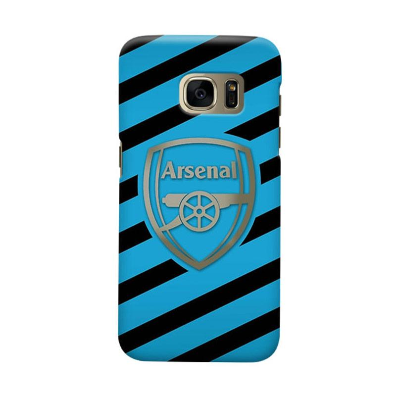 Indocustomcase Arsenal FC AFC06 Cover Casing for Samsung Galaxy S7 Edge