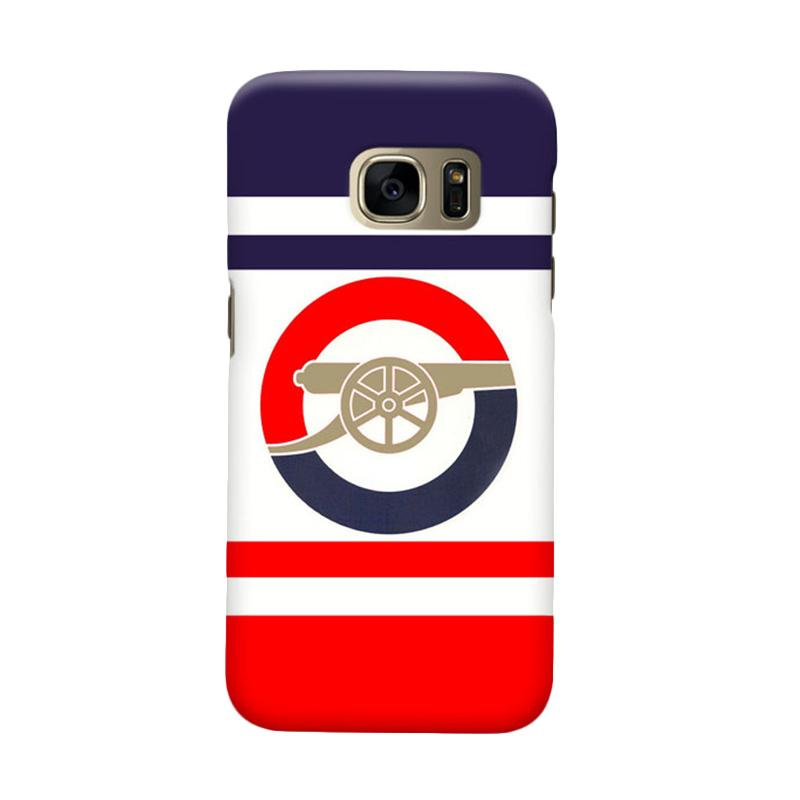 Indocustomcase Arsenal FC AFC08 Cover Casing for Samsung Galaxy S6 Edge