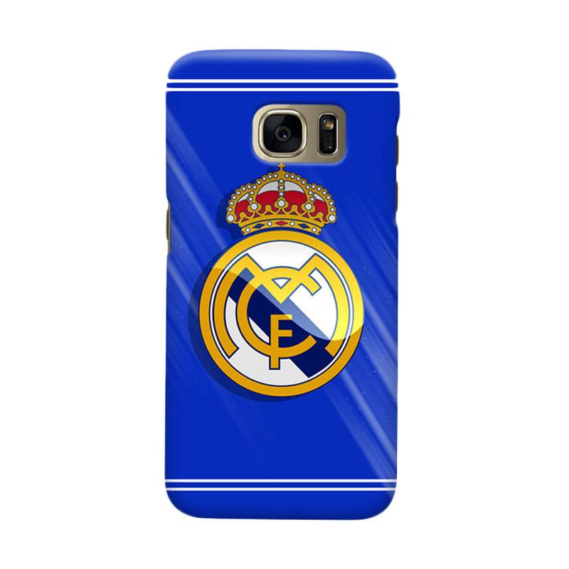 Indocustomcase Real Madrid FC RMA01 Casing for Samsung Galaxy S6