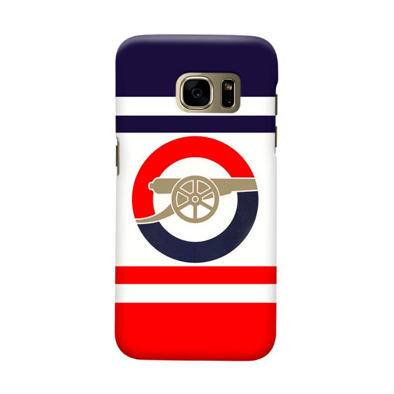 Indocustomcase Arsenal FC AFC08 Cover Casing for Samsung Galaxy S7 Edge