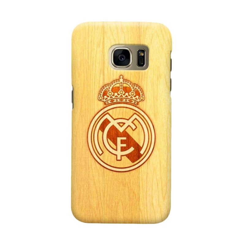 Indocustomcase Real Madrid FC RMA02 Cover Casing for Samsung Galaxy S6