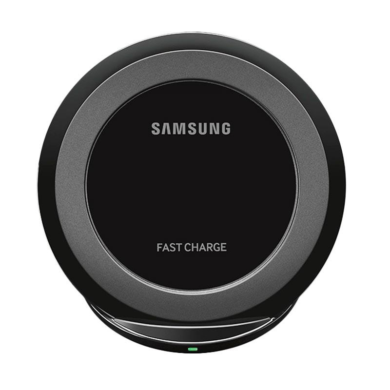 Samsung Original Fast Charging Wireless Charger Stand for Galaxy S7 or S7 Edge -Black