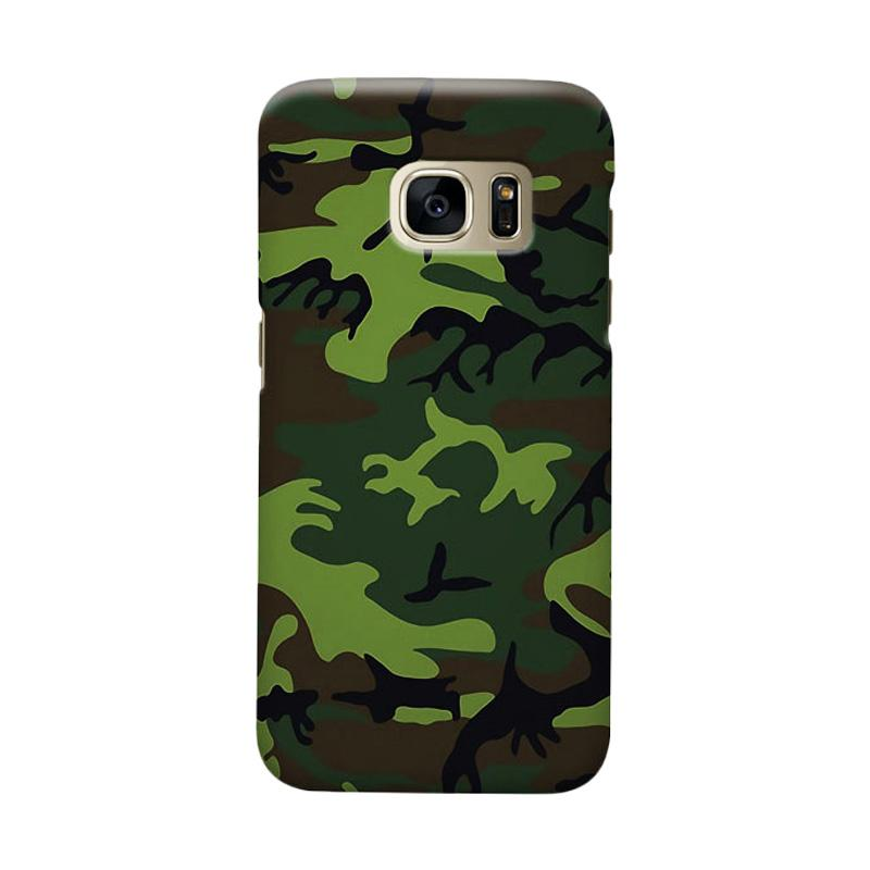 Indocustomcase Army Camoflauge Casing for Samsung Galaxy S6