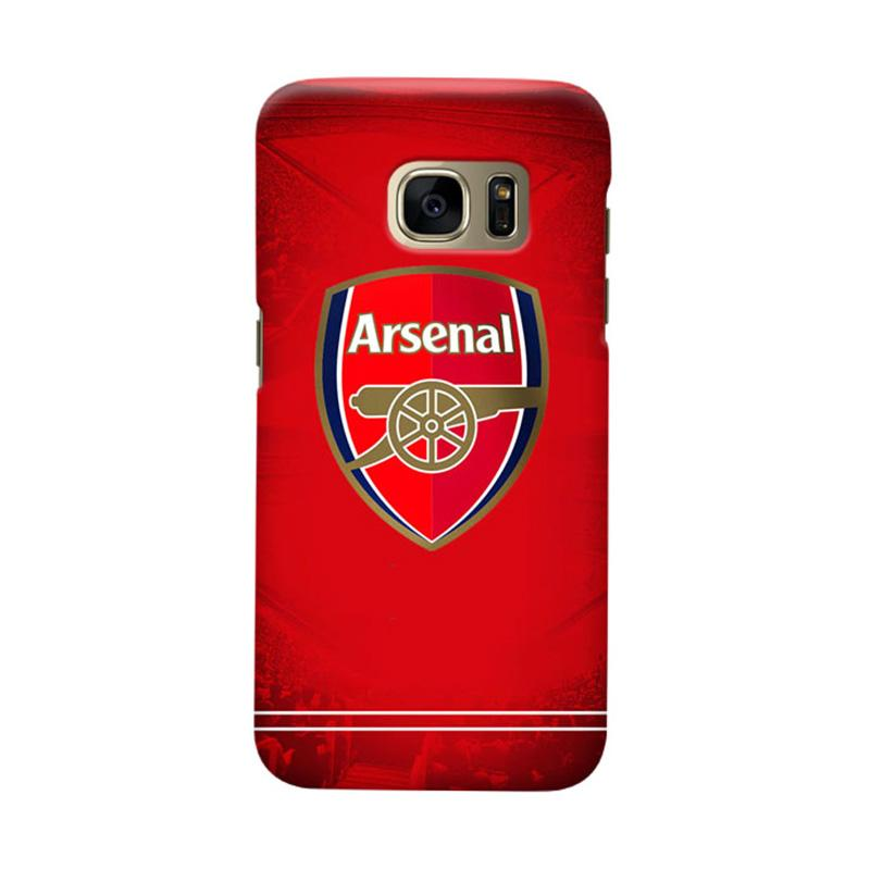 Indocustomcase Arsenal FC AFC09 Cover Casing for Samsung Galaxy S7 Edge