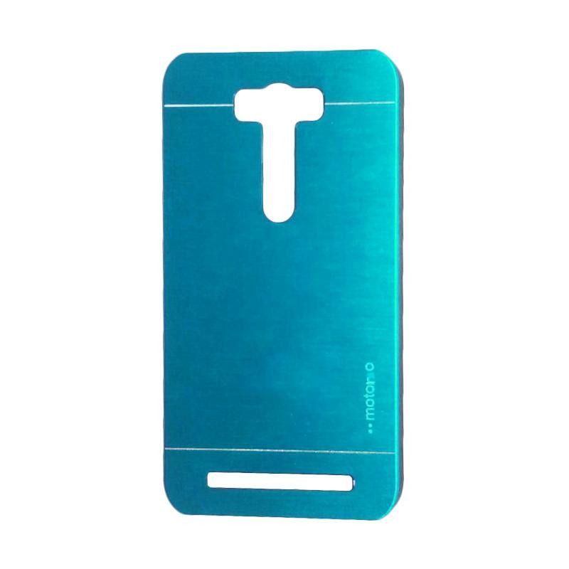 Motomo Metal Backcase Hardcase Casing for Asus Zenfone 2 Laser ZE550KL 5.5 Inch - Sky Blue