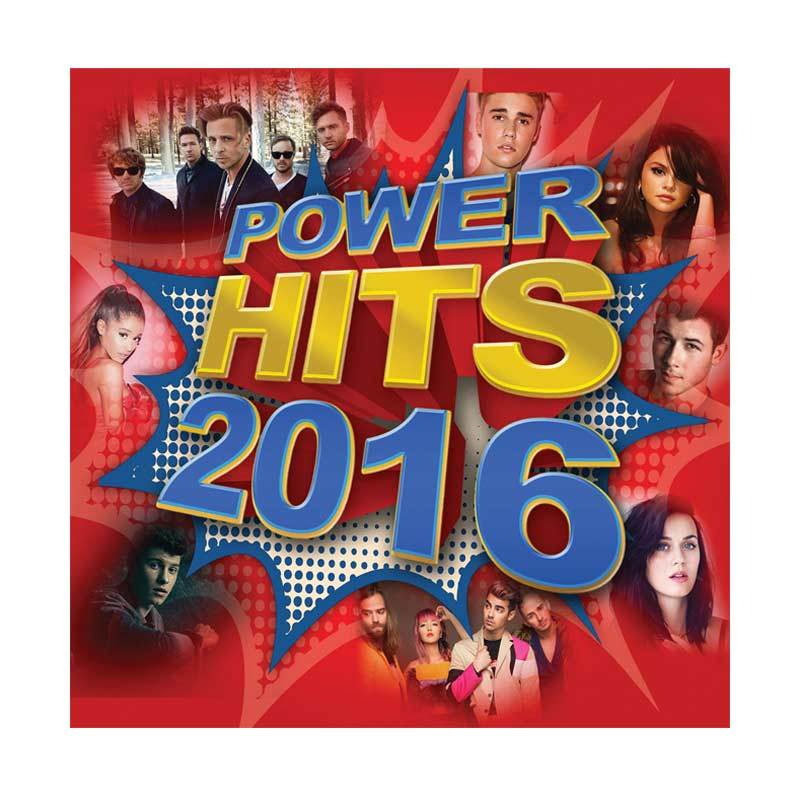 Universal Music Indonesia Various Artist Power Hits 2016 CD Musik