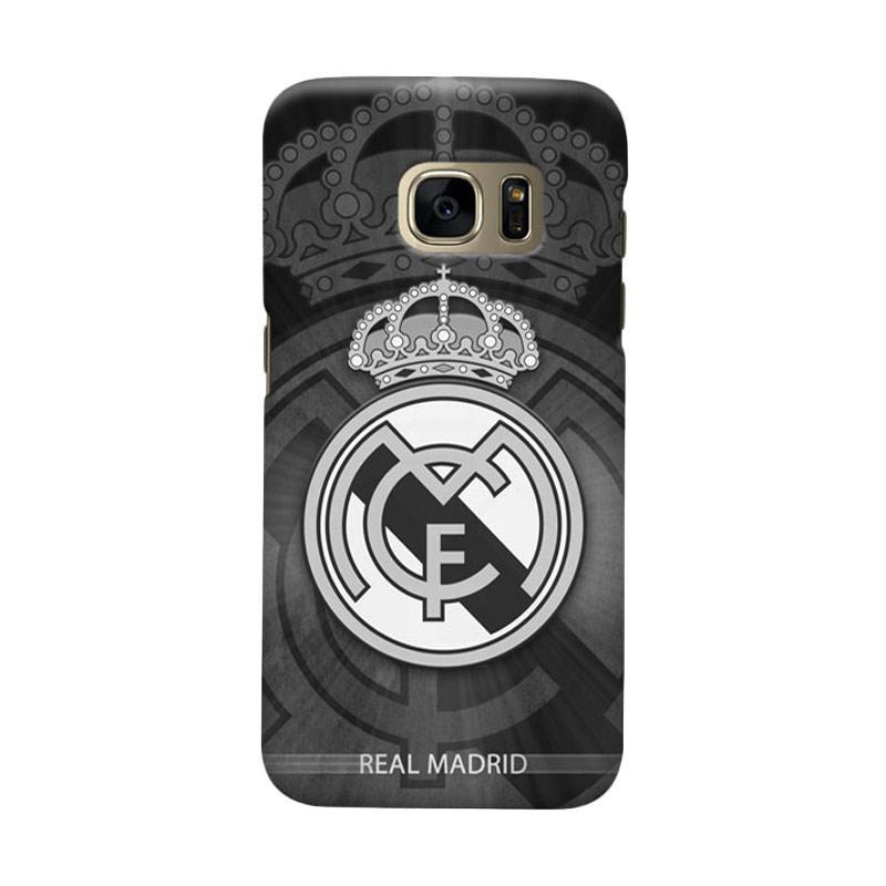 Indocustomcase Real Madrid FC RMA05 Cover Casing for Samsung Galaxy S6