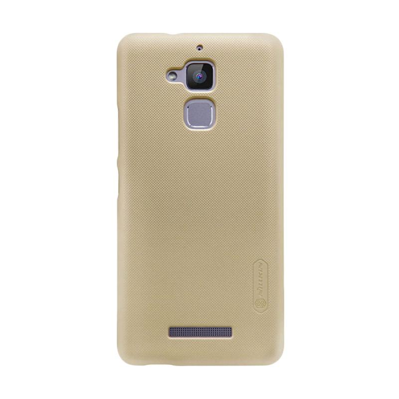 Nillkin Original Super Shield Hardcase Casing for Asus Zenfone 3 Max 5.2 Inch - Gold [1 mm]