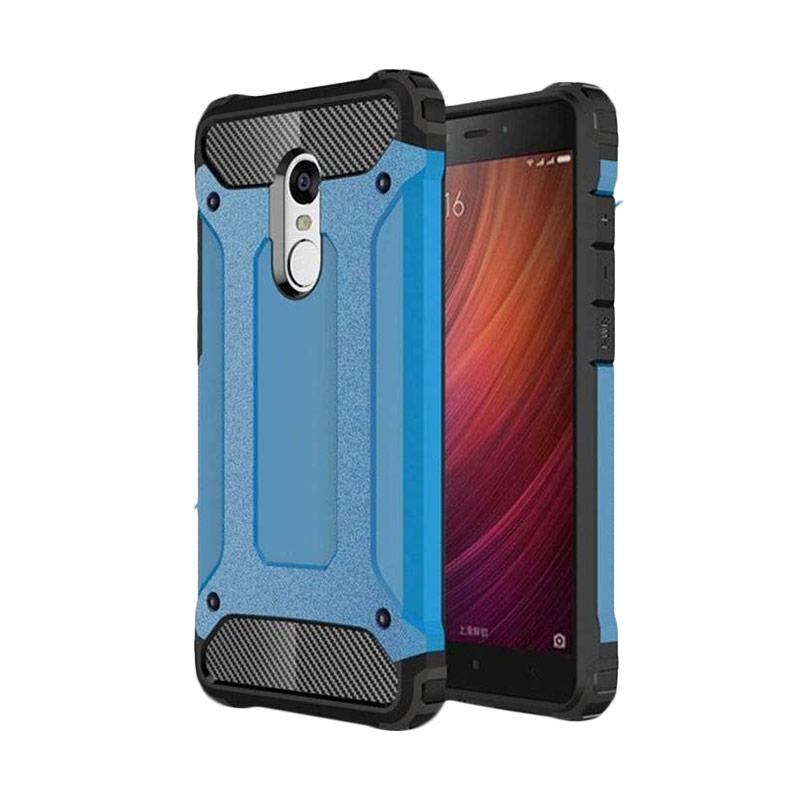 OEM Spigen Transformers Iron Robot Hardcase Casing for Xiaomi Redmi Note 3 Pro - Blue