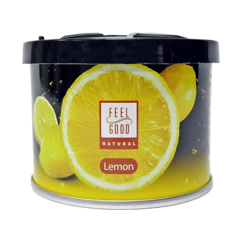 SIV Bullsone Feel Good Lemon Car Air Freshener Pengharum Mobil atau Ruangan - Yellow