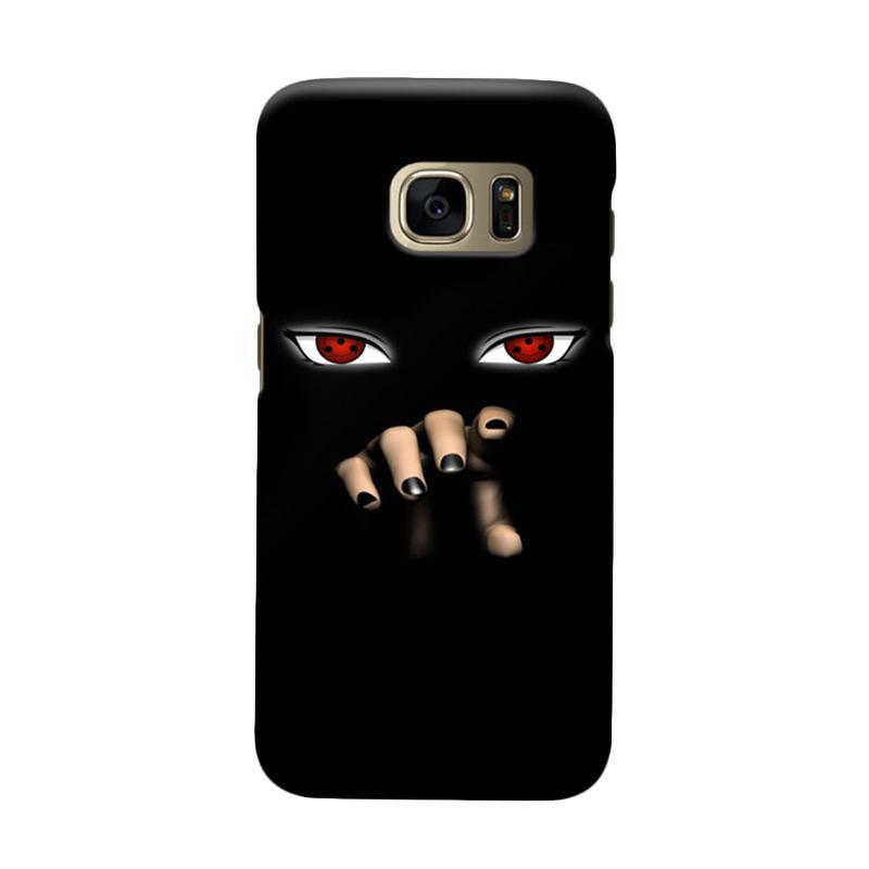 Indocustomcase Itachi Sharingan Cover Casing for Samsung Galaxy S7 Edge