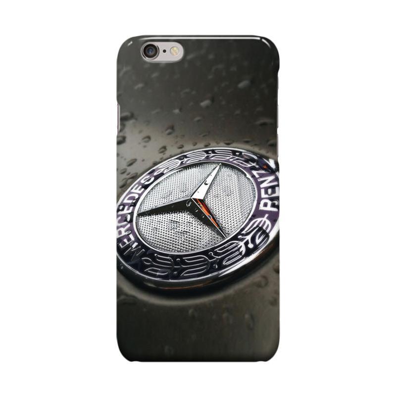 Indocustomcase Mercedes Benz Cover Casing for iPhone 6 Plus or 6S Plus