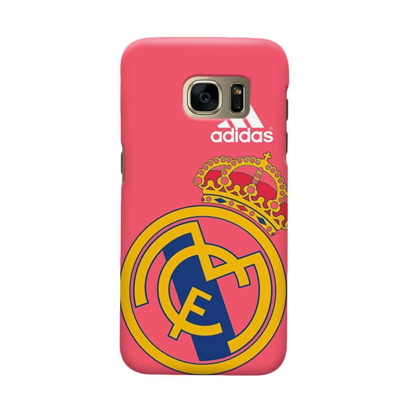 Indocustomcase Real Madrid FC RMA06 Cover Casing for Samsung Galaxy S6