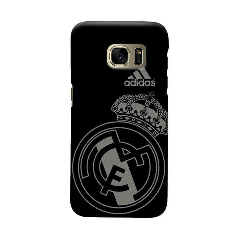 Indocustomcase Real Madrid FC RMA07 Cover Casing for Samsung Galaxy S6