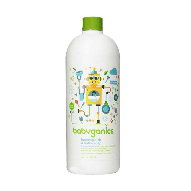 harga Babyganics Dish & Bottle Soap Fragrance Free Sabun Pembersih Botol Susu Bayi [946 mL] Blibli.com