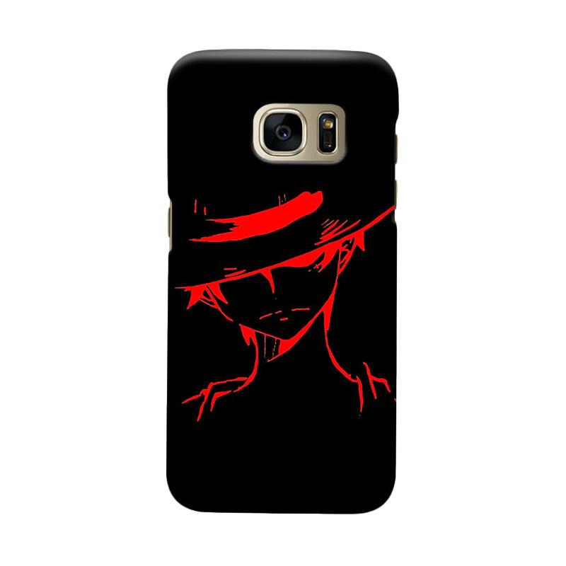 Indocustomcase Anime One Piece Character OP04 Casing for Samsung Galaxy S6