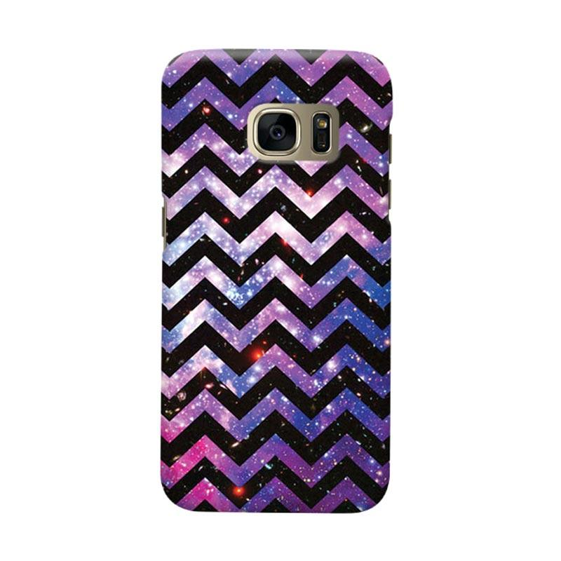Indocustomcase Chevron Galaxy Cover Casing for Samsung Galaxy S6