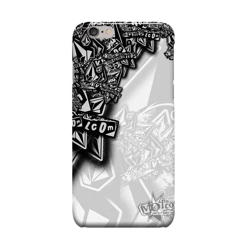 Indocustomcase Volcom Cover Casing for Apple iPhone 6 Plus or 6S Plus