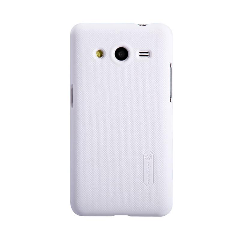 Nillkin Original Super Shield Hardcase Casing for Samsung Galaxy Core - White [1 mm]
