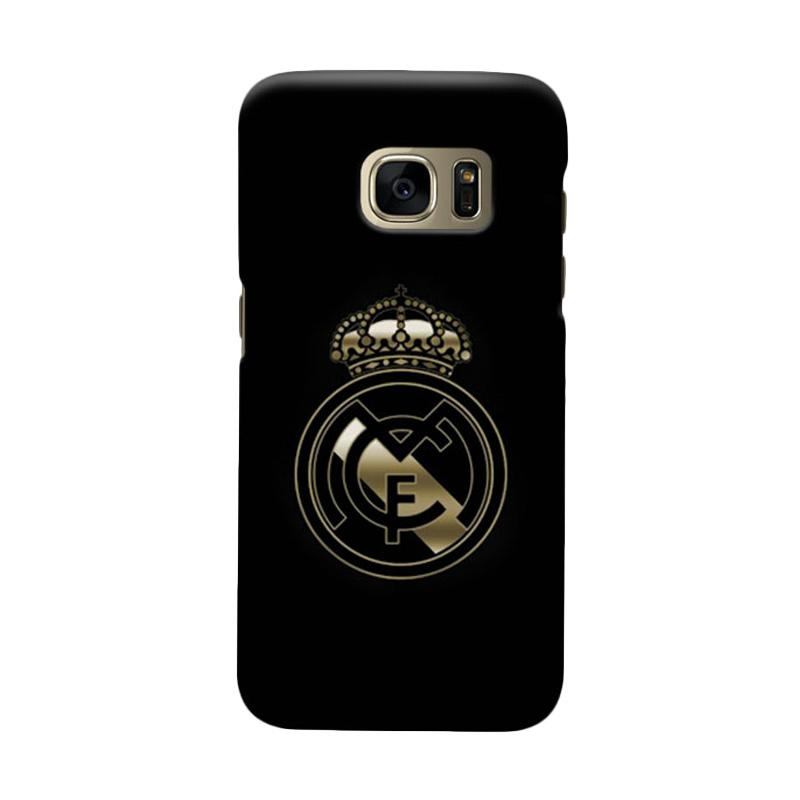 Indocustomcase Real Madrid FC RMA09 Cover Casing for Samsung Galaxy S6