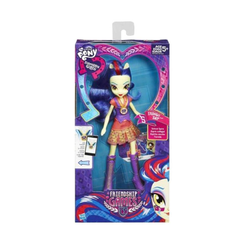 harga My Little Pony Equestria Girls Indigo Zap Friendship Games Doll Original Item Blibli.com