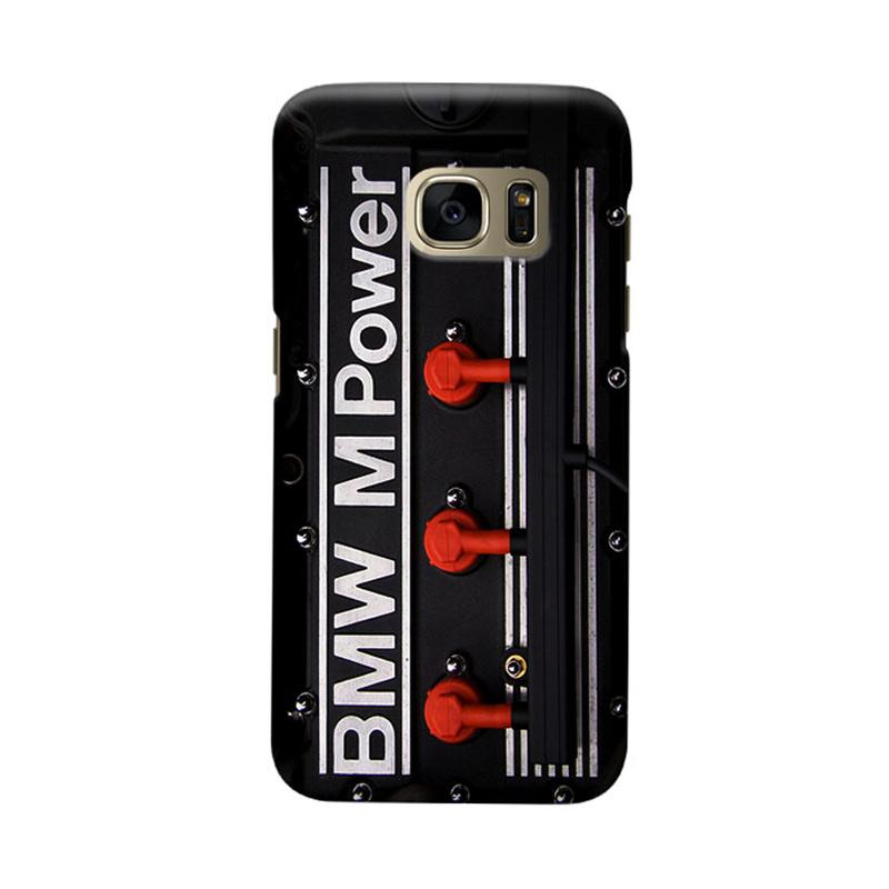 Indocustomcase BMW Cover Engine Cover Casing for Samsung Galaxy S6 Edge