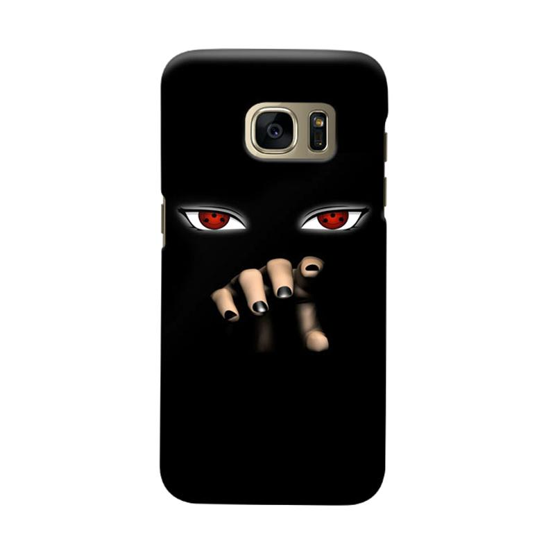 Indocustomcase Itachi Sharingan Cover Casing for Samsung Galaxy S6