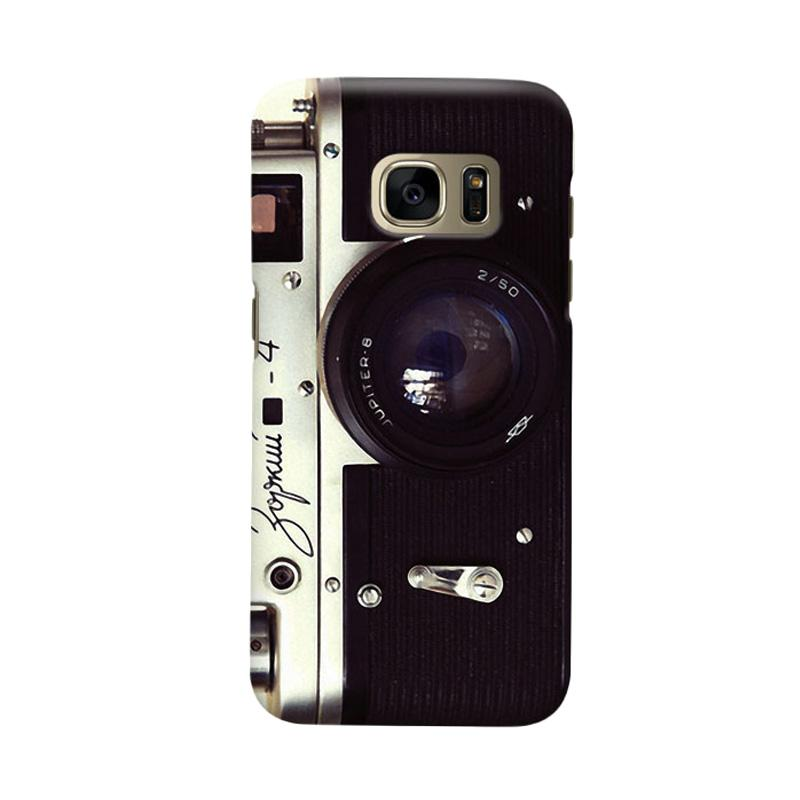 Indocustomcase Zorki Camera Cover Casing for Samsung Galaxy S6 Edge