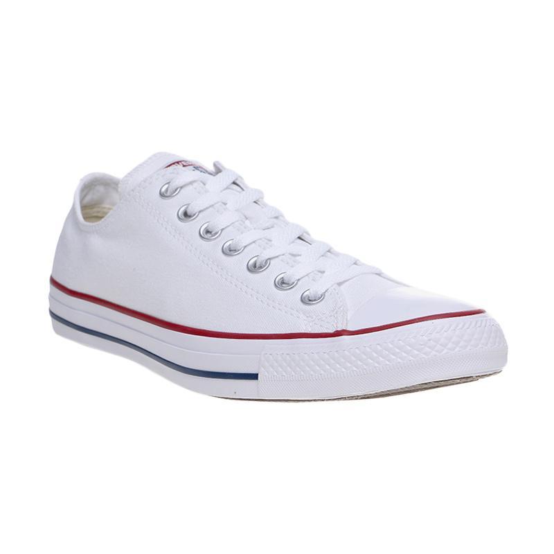 Converse Chuck Taylor All Star OX White Made in Indonesia Sepatu Pria -  Putih 3be38a77a5