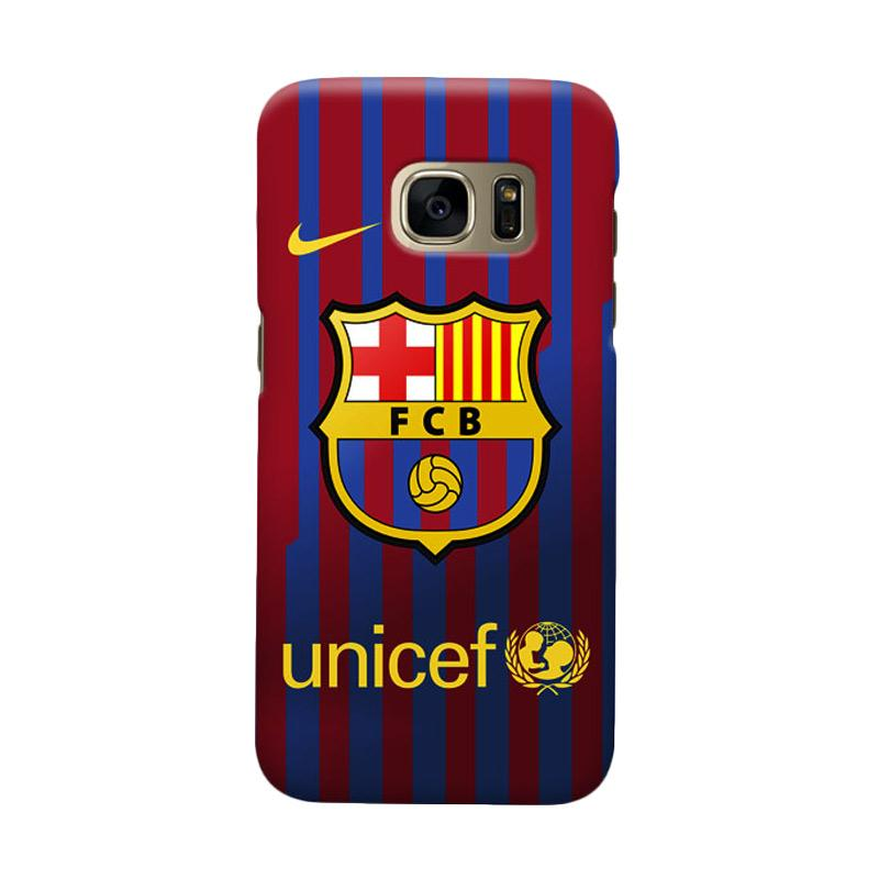 Indocustomcase FC Barcelona FCB10 Cover Casing for Samsung Galaxy S6 Edge