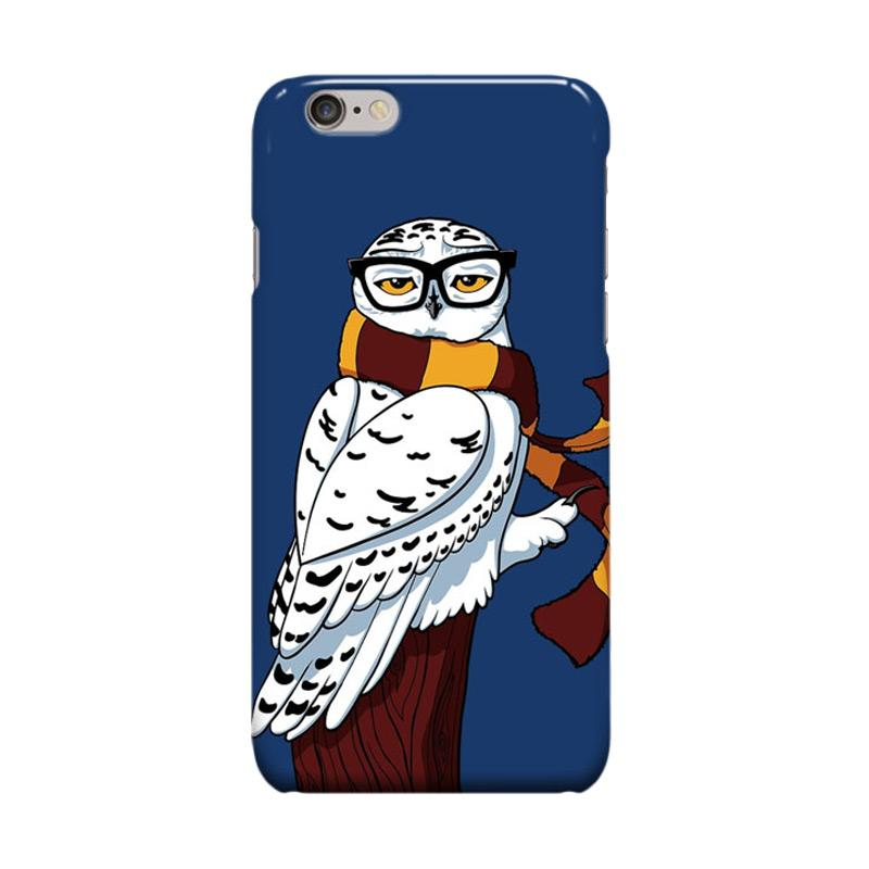 Indocustomcase Hipster Owl Cover Casing for iPhone 6 Plus or 6S Plus