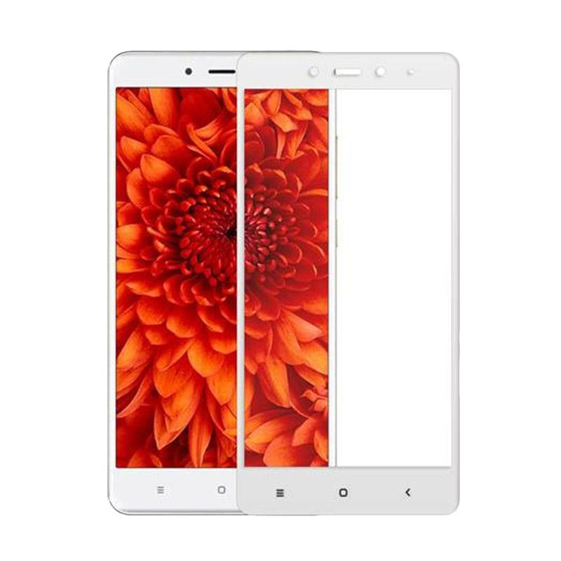 Tempered Glass Full [Front Only]  Screen Protector for Xiaomi Redmi Note 4 - Putih
