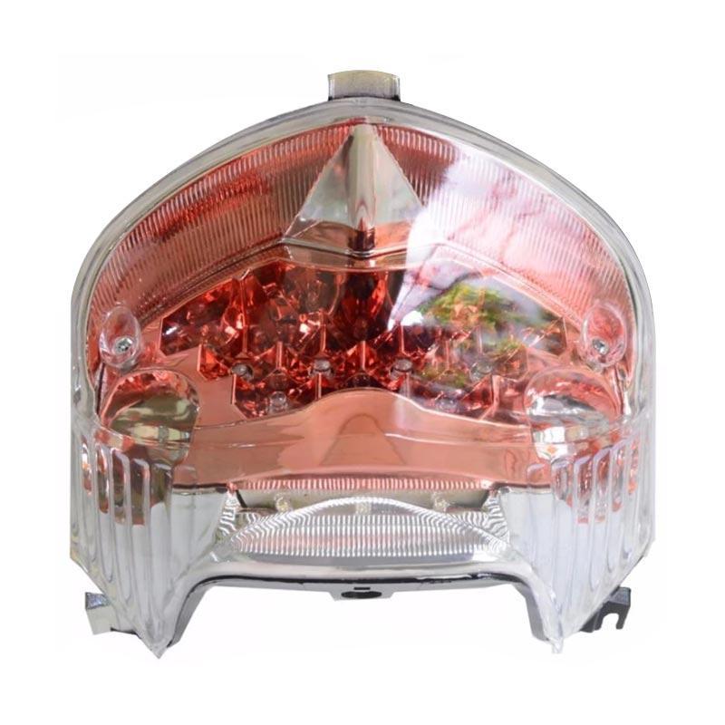 harga Raja Motor Aksesoris Motor Lampu Stop LED for Vixion 2013 [LAS3062-MikaClear] Blibli.com