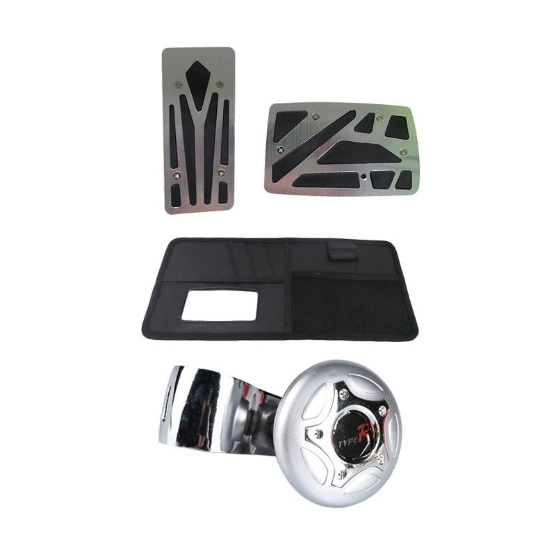 1PRICE Paket Easy Driving - A53087 Driving + B71220B Cover Pedal + A83027 Multi Pocket