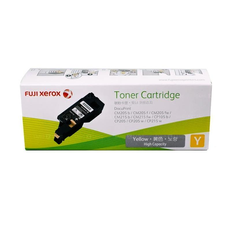 Fuji Xerox CT201594 Toner untuk Printer Docuprint CP105b or CP215w - Yellow [1400 Halaman]