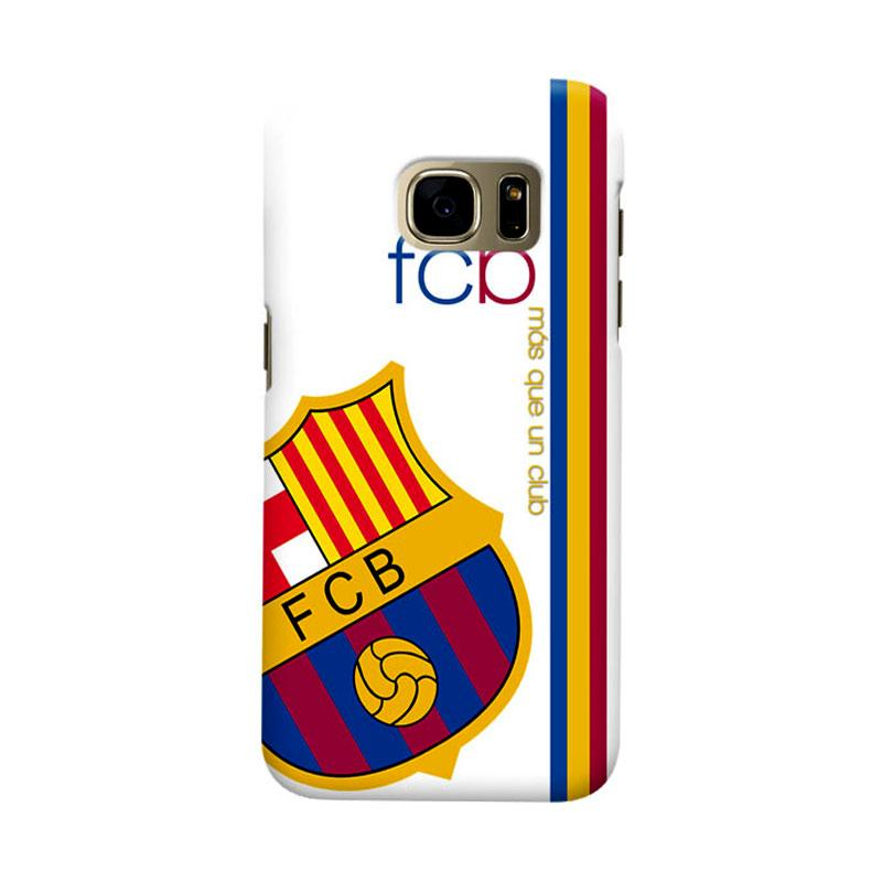Indocustomcase FC Barcelona FCB01 Cover Casing for Samsung Galaxy S7 Edge