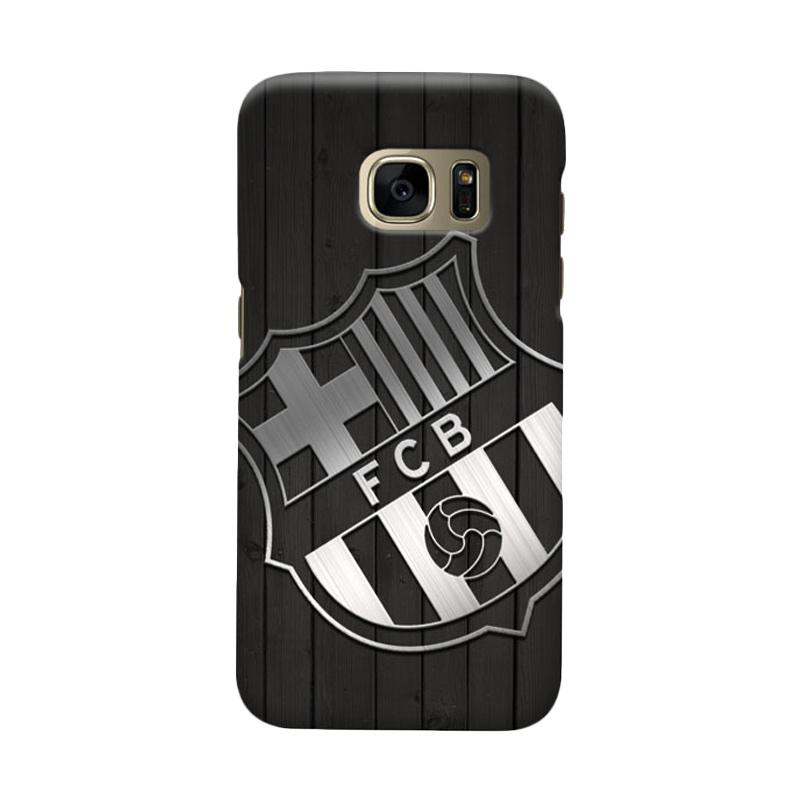 Indocustomcase FC Barcelona FCB02 Cover Casing for Samsung Galaxy S6 Edge
