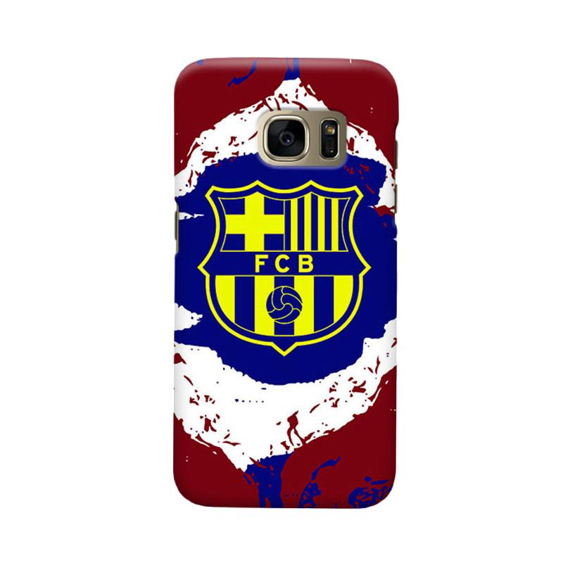 Indocustomcase FC Barcelona FCB11 Cover Casing for Samsung Galaxy S7 Edge