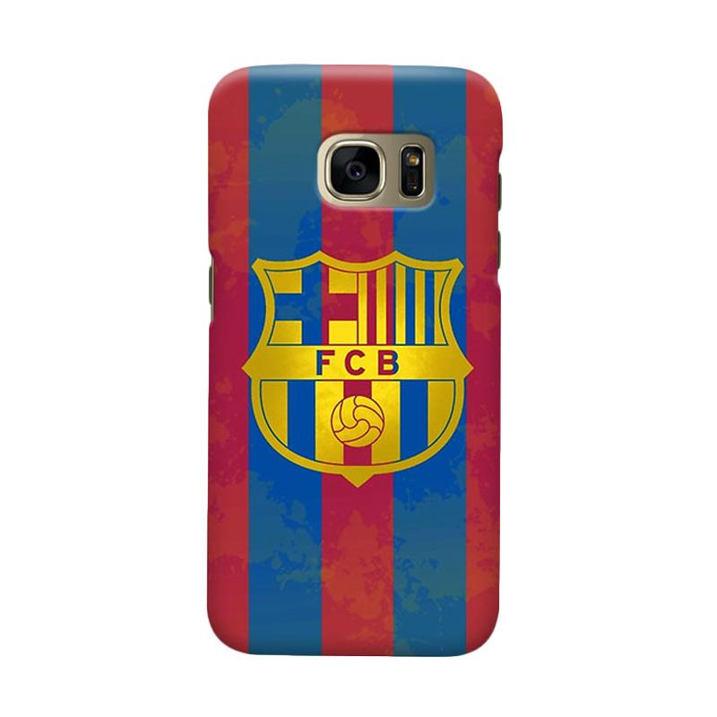 Indocustomcase FC Barcelona FCB12 Cover Casing for Samsung Galaxy S6 Edge