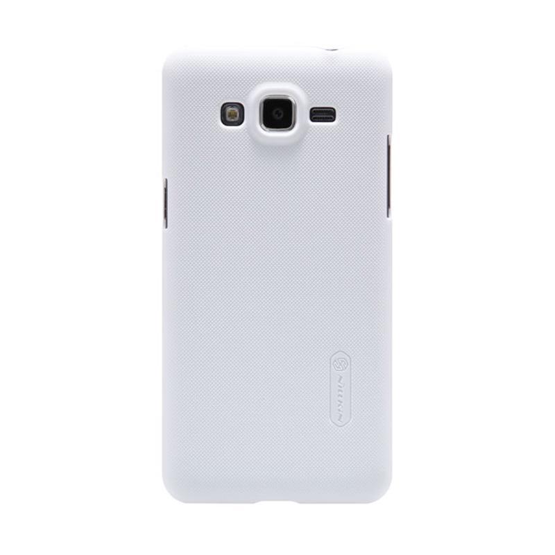 Nillkin Original Super Shield Hardcase Casing for Samsung Galaxy Grand Prime - White [1 mm]