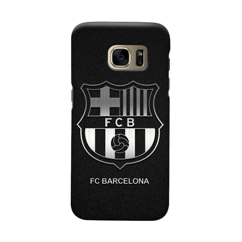Indocustomcase FC Barcelona FCB03 Cover Casing for Samsung Galaxy S6 Edge