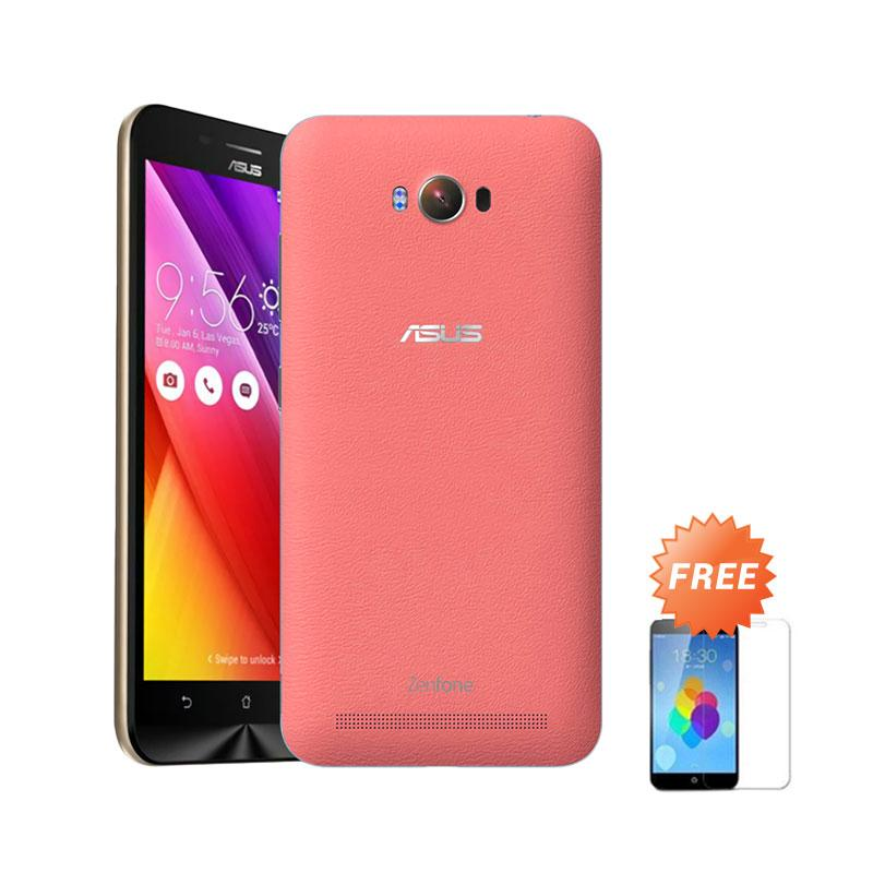 Ultrathin Aircase Casing for Asus Zenmax ZC550KL - Red Clear [Best Seller] + Free Tempered Glass