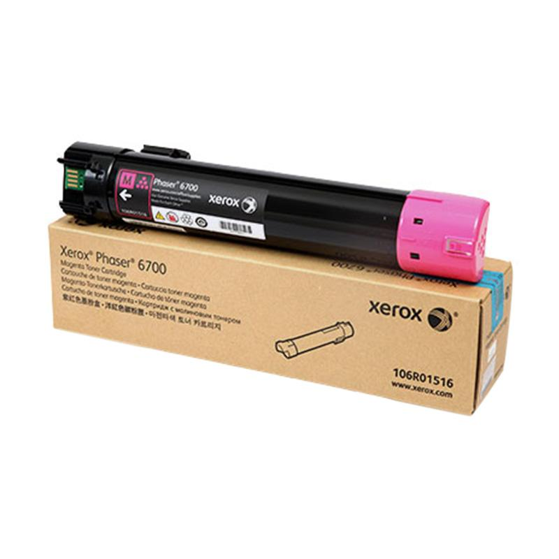 Fuji Xerox 106R01516 Toner Cartridge for Docuprint Phaser 6700 - Magenta [12.000 Halaman]