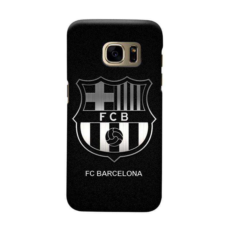 Indocustomcase FC Barcelona FCB03 Cover Casing for Samsung Galaxy S7 Edge