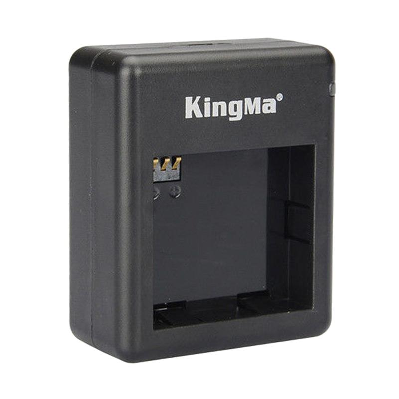 Kingma Dual Desktop Battery Charger for Xiaomi Yi Action Camera - Hitam