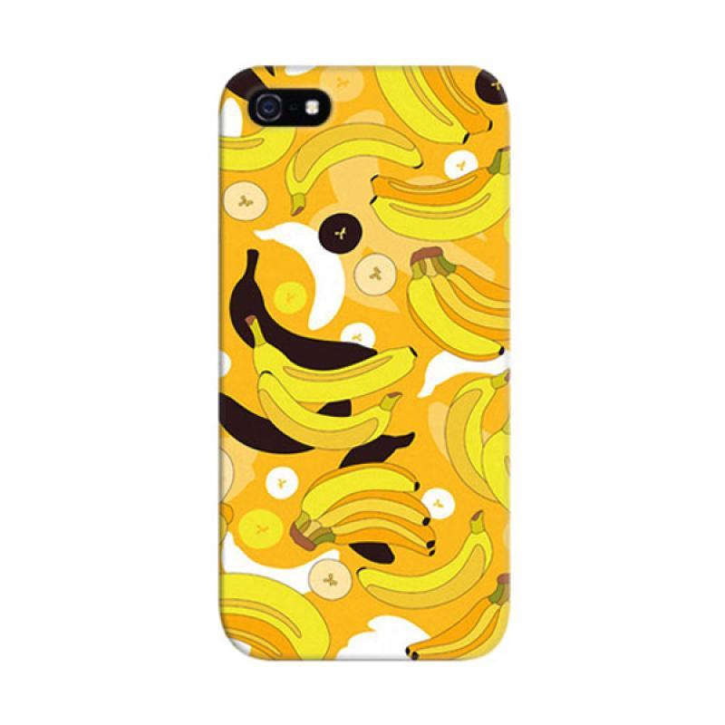 Indocustomcase Banana Custom Cover Hardcase Casing for Apple iPhone 5/5S/SE