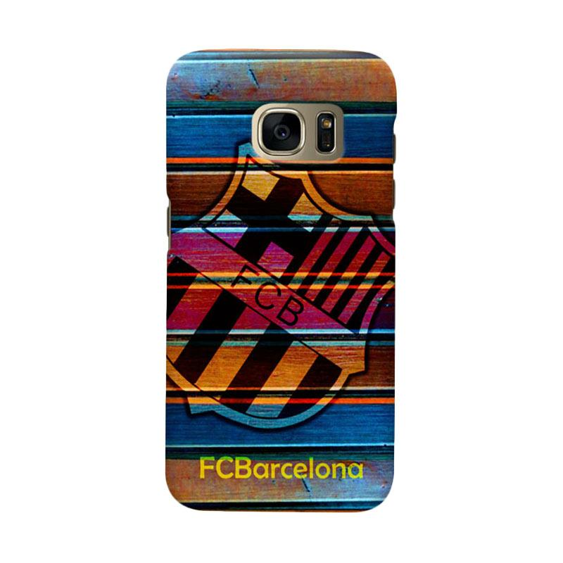 Indocustomcase FC Barcelona FCB05 Cover Casing for Samsung Galaxy S6 Edge