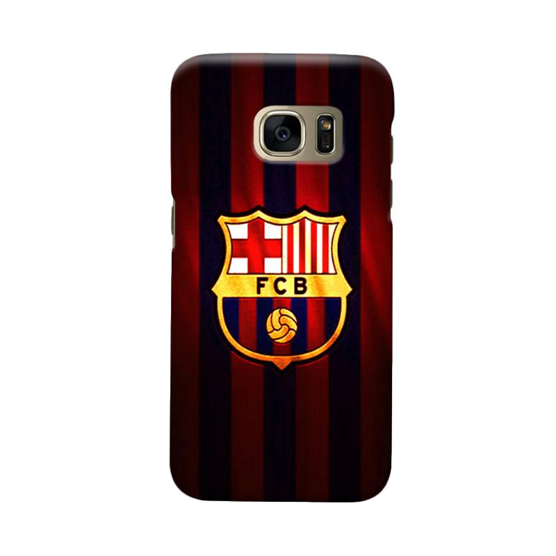 Indocustomcase FC Barcelona FCB06 Cover Casing for Samsung Galaxy S7 Edge